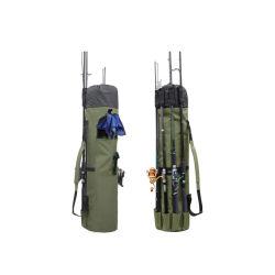 Il caso canna da pesca di grande capacità portatile di pesca Rod del sacchetto dell'attrezzatura di pesca di Oxford trasporta il sacchetto impermeabile esterno di memoria degli strumenti di pesca dell'organizzatore per il pescatore