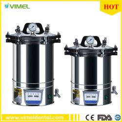 Equipos de esterilización Dental médico Autoclave Esterilizador a vapor de alta presión con display LCD