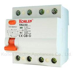 Knl RCCB5-63 de alta calidad (ID) de disyuntor de corriente residual