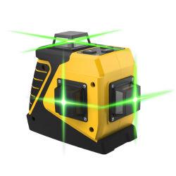 riga 3D 12 livello del laser del pavimento del fagiolo dello sbarco di verde di 360 gradi multi