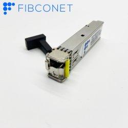 1310 nm Bidi ópticos SFP 1550nm transceptor módulo SFP de fibra óptica