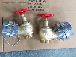 소화전 2.5′′ 랜딩 밸브 황동 알루미늄 커플링