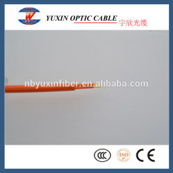 2 Double en duplex à l'intérieur de base de la veste extérieure câble fibre optique à plat en provenance de Chine usine