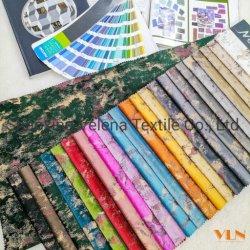 Новые поступления полиэстер New Holland мягкие бархатные окрашивания с красочными сетку с покрытием Bronzing текстильной обивки мебели диван шторки ткань