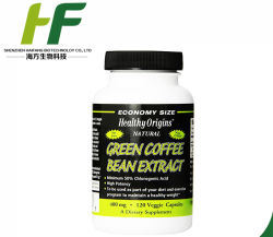 OEM de Groene Capsule van het Verlies van Pill&Weight van het Vermageringsdieet van het Uittreksel van de Boon van de Koffie