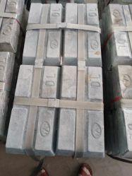 カスタマイズされた亜鉛はZamakのアルミ鋳造のCastedの部品のインゴット亜鉛を合金にする