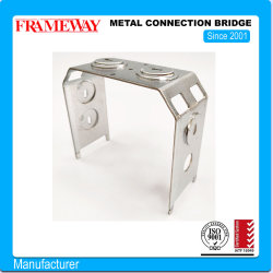 Verlichting component metalen verbindingsbrug Zink-elektroverend staalplaat Vormen