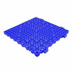 Cojín de PVC Drainge Non-Slip esteras de enclavamiento Baldosa mosaico de suelos de la plaza de PVC 100% virgen Tile