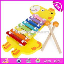 Het houten Muzikale Instrument van de Percussie van de Sleutels van de Xylofoon voor Jonge geitjes W07c060