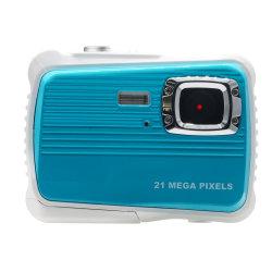 Mini impermeável Kid Camera High Definition 21MP HD 3m natação submarina Câmara câmara digital 32g SD Flash 2.0 Polegada