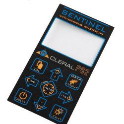 ملصق مفتاح الغطاء الغشائي المخصص لكزان المصنوع من البولي كربونات