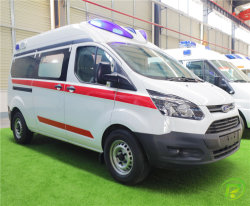 Diesel Ford Monitor paciente coche ambulancia ambulancia