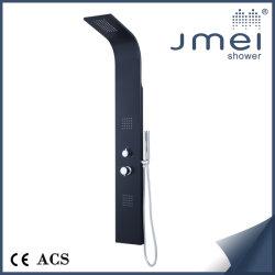 Novo design do painel de duche em ligas de alumínio (JM-AL081) com mais funções para o Mercado Europeu