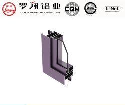 목재 입자 분말 코팅 산화 전기영동 표면 마감 알루미늄 프로파일 창 및 도어