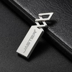 دعم المصنعين الصينيين محركات أقراص فلاش USB معدنية سعة 4 جيجابايت محرك أقراص USB2.0 سعة 16 جيجابايت وسعة 64 جيجابايت بسعر أقل