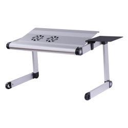 Alliage en aluminium réglable en hauteur Socle pour ordinateur portable portable avec ventilateur de refroidissement et le tapis de souris/