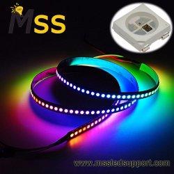 Ws2812b Licht van de LEIDENE het Digitale LEIDENE van Stroken RGB/RGBW LEIDENE Strook met Naar maat gemaakt Ontwerp