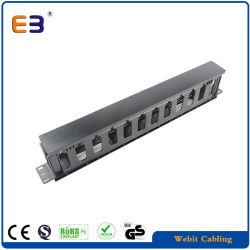 1u пластмассовых кабелей с крышкой кабель провод данные органайзера