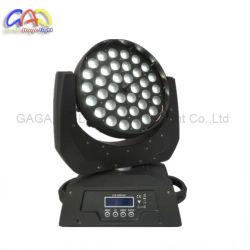 36 * 10W Haute Puissance 4-en-1 RGBW LED avec fonction de zoom de la lumière de la tête mobile