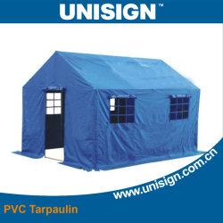 Alta calidad de 680g/m² carpa de PVC tejido de la cubierta de lona impermeabilización temporal