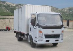 Sinotruk HOWO 4X2 Direito da Luz do Motor Diesel 5toneladas Van Veículo