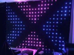 2m * 3m SMD LED Lampe LED de rideau de la Vision de la vidéo pour la partie du Club de décoration en tissu