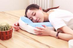 Flower Shaped Colorful Design Adulte Chaise Oreiller, Nap Pillow