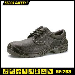 Frauen / Männer Sport Stahl Zehenkappe Sicherheit Leder Arbeitsschuhe