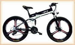 Le plus récent 26inchh populaires européens en alliage aluminium montagne électrique vélo pliant avec roue intégrale
