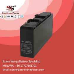 12v 150Ah Terminal Frontal tipo gel de plomo-ácido de batería VRLA para interruptor Gear