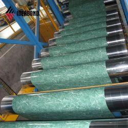 Aluminium plaat in kleur voor gordijnairbag (geborstelde serie)