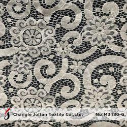 Текстильный нейлон хлопок кружевной ткани шнур кружева для одежды (M3480-G)