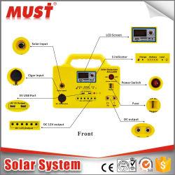 заводская цена 12V 20W 12AH портативный мини-домашнего использования солнечной системы питания
