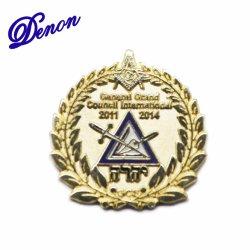 Gran Consejo General de esmalte personalizados promocionales insignia de solapa