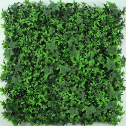 Produit ignifuge résistant aux UV artificiels de plein air douce feuillage feuille PE Usine de décoration de la vie privée jardin vertical vert mur pour l'écologisation de la conception d'aménagement paysager