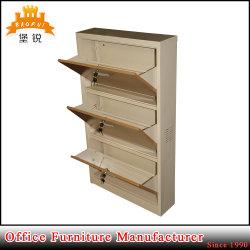 Commerce de gros meubles en acier du caisson de nettoyage des chaussures de l'armoire rack métallique