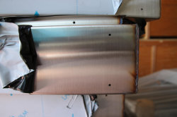 Custom CNC Couvercle du châssis en tôle en acier inoxydable Lsaer (soudage soudage par coupe, aluminium, laiton, cuivre, le service)