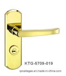 Hohler sicherer Tür-Griff des Edelstahl-304 auf Platte (KTG-5709-019)