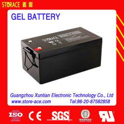 Batterie gel avec 12V La tension normale, sans entretien Accumulateur de pression