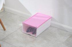 Boîte à chaussures clair avec tiroir/Boîtes en plastique transparent