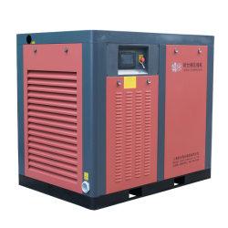 Low-Noise électrique lubrifiés stationnaire de moyenne à haute pression compresseur à air de type à vis avec refroidissement air/eau