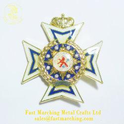 Pin su ordinazione del fiore del risvolto di sicurezza della clip del magnete del distintivo di buona qualità