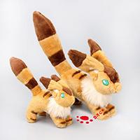 Animales de peluche juguete cómic