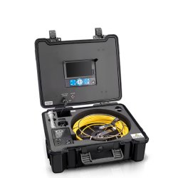 L'assainissement Mini Pipe Line diamètre de tige de poussée d'inspection de l'appareil photo