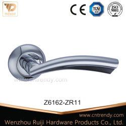 Maniglia principale della serratura del fermo di portello dell'entrata della mobilia di Zamak di qualità in bicromato di potassio (Z6162-ZR11)