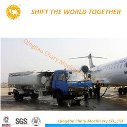 شاحنة نقل الوقود سعة 10000 لتر ذات طائرة مروحية مع موزع