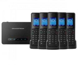 De Telefoon van VoIP DECT van Grandstream (DP750)
