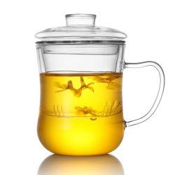 Pyrex en verre de thé Le thé à la verrerie personnaliser Mug avec filtre en verre borosilicaté tasse de thé