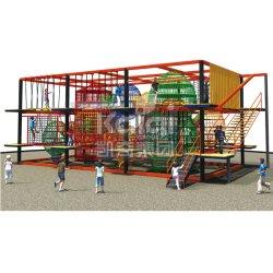Sistemi rampicanti del campo da giuoco di serie di avventura dell'interno per il centro commerciale