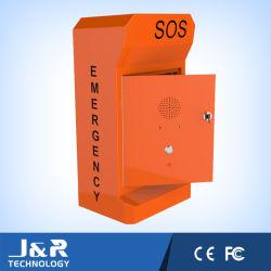 Teléfono en la carretera de emergencia de ERT, Sos Punto de ayuda con Energía Solar